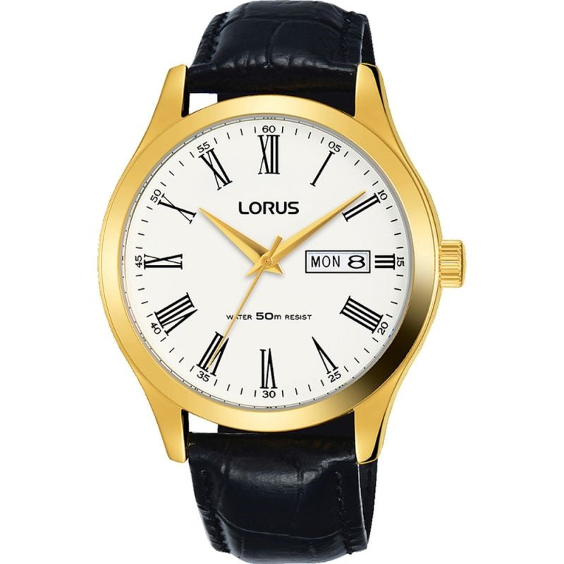 Lorus Day Date Mens Watch RXN54DX9 - Hollins and Hollinshead