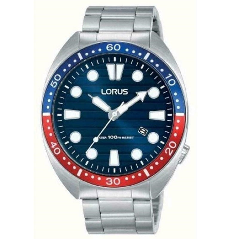Lorus Stainless Steel Mens Watch RH925LX9 - Hollins and Hollinshead