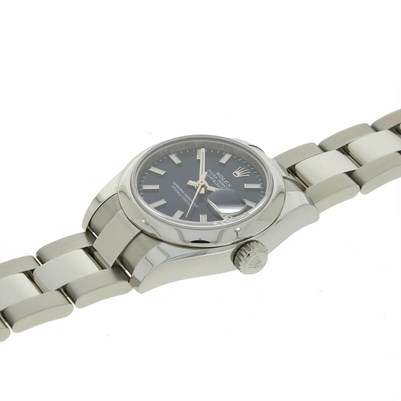Pre Owned Rolex Oyster Perpetual Datejust 26 Steel Ladies Watch 179160 RW0349 Papers (2006) - Hollins and Hollinshead
