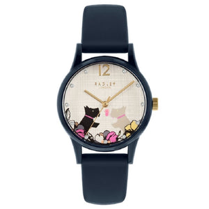 Radley Navy Silicone Strap Ladies Watch RY2983 - Hollins and Hollinshead