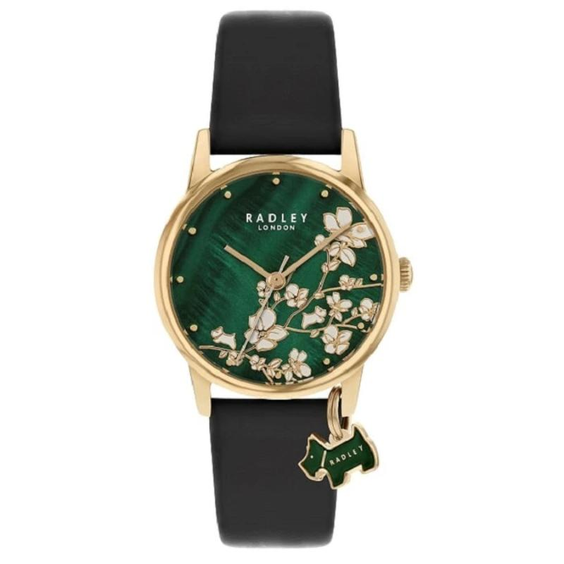 Radley Linear Flower Green Dial Ladies Watch RY2882 - Hollins and Hollinshead
