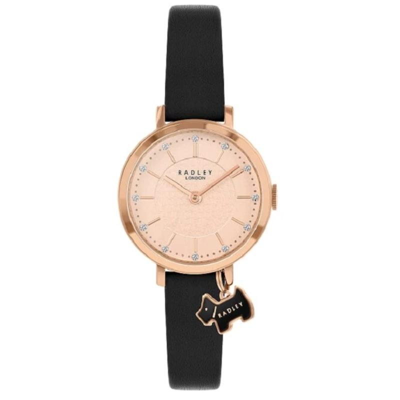 Radley Selby Street Black Leather Strap Watch RY2928 - Hollins and Hollinshead