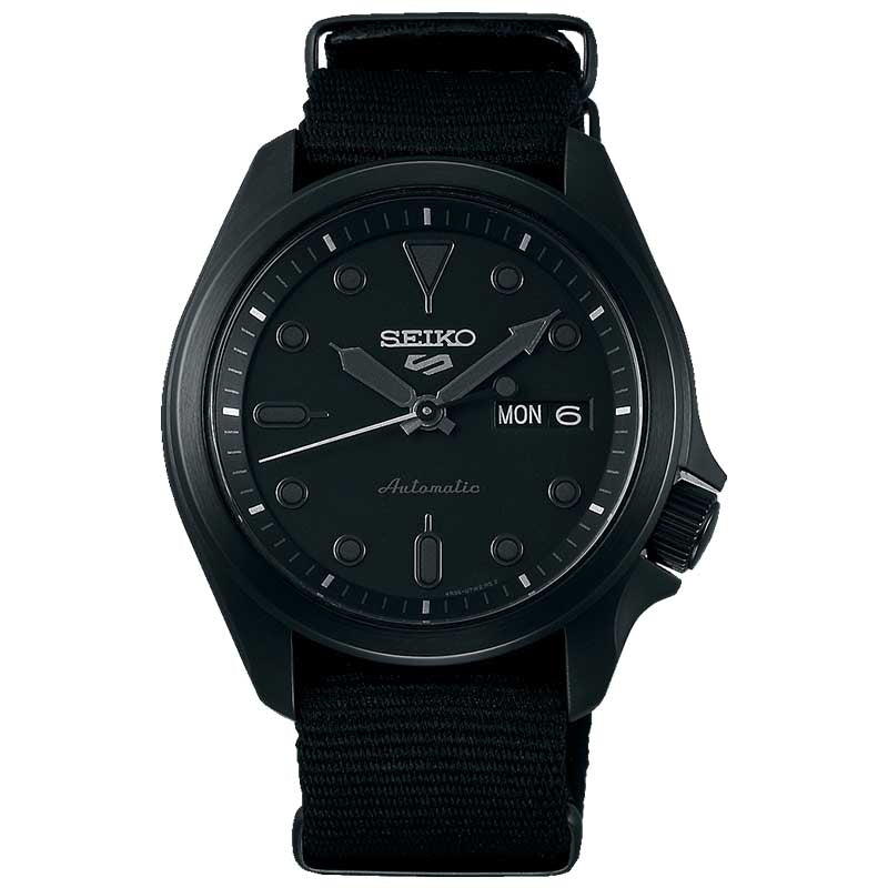 Seiko 5 Automatic Black Dial Mens Watch SRPE69K1