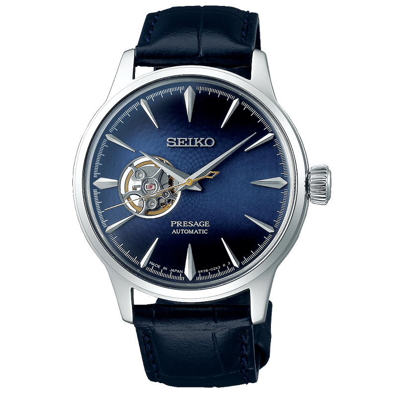 Seiko Presage Automatic The Blue Moon Cocktail Mens Watch SSA405J1 - Hollins and Hollinshead