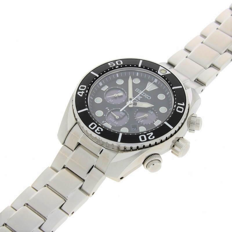 Seiko Prospex Sumo Solar Chronograph 200m Men's Divers Watch SSC757J1 - Hollins and Hollinshead