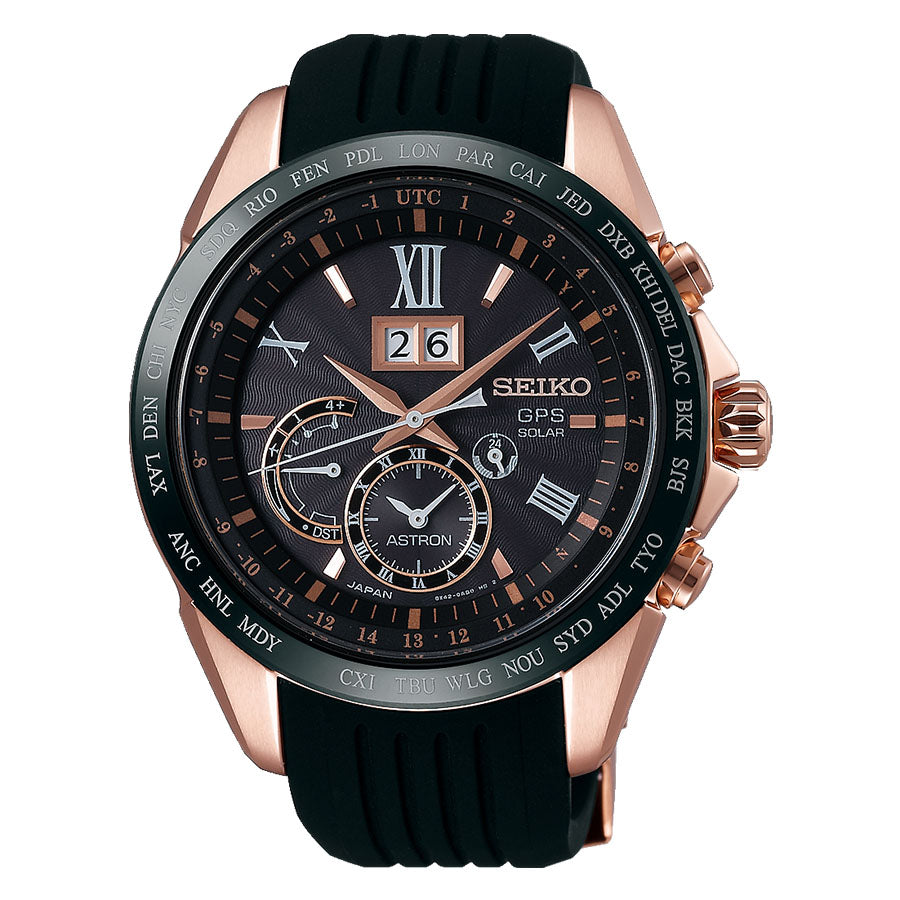 Seiko Astron GPS Solar World Time Mens Watch SSE153J1 - Hollins and Hollinshead