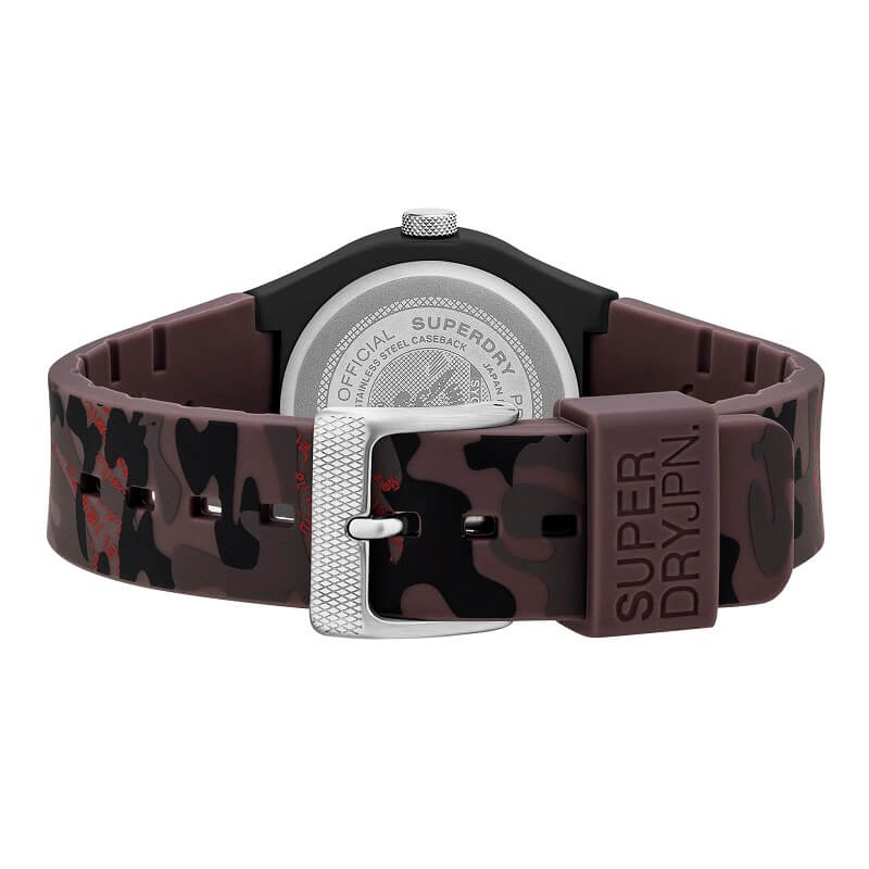 Superdry Urban Fluoro Camo Watch SYG296BR - Hollins and Hollinshead