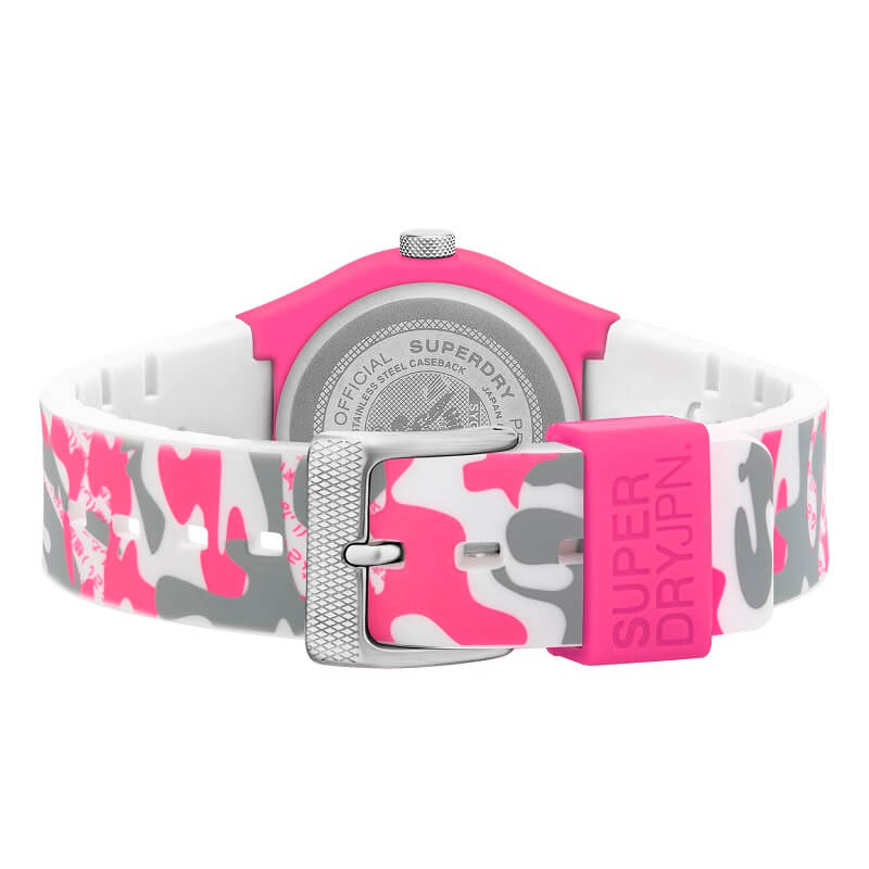 Superdry Urban Fluoro Camo Watch SYL296EP - Hollins and Hollinshead