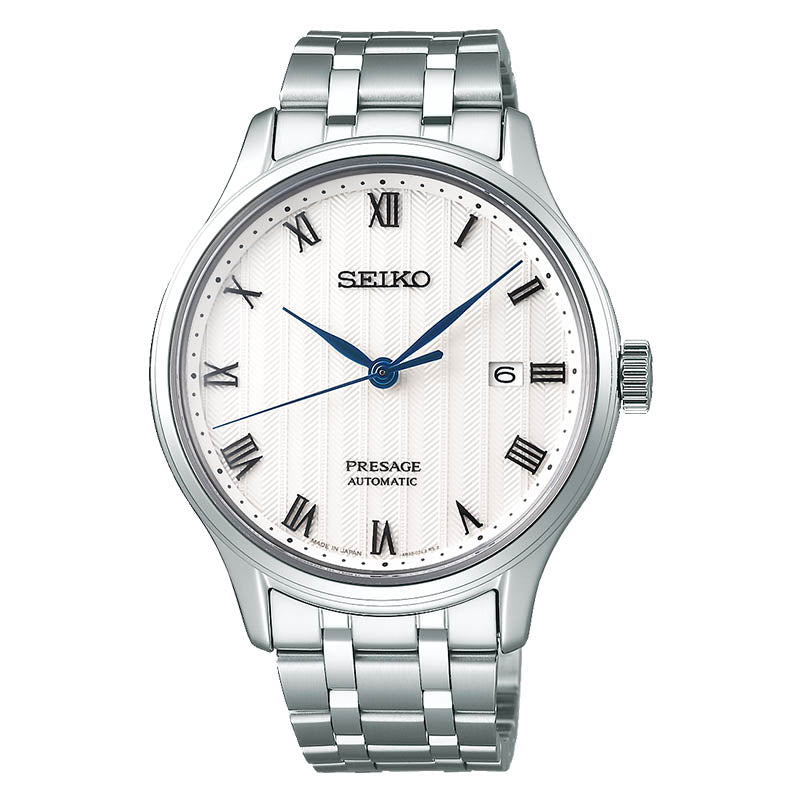 Seiko Presage Automatic Stainless Steel Mens Watch SRPC79J1 - Hollins and Hollinshead
