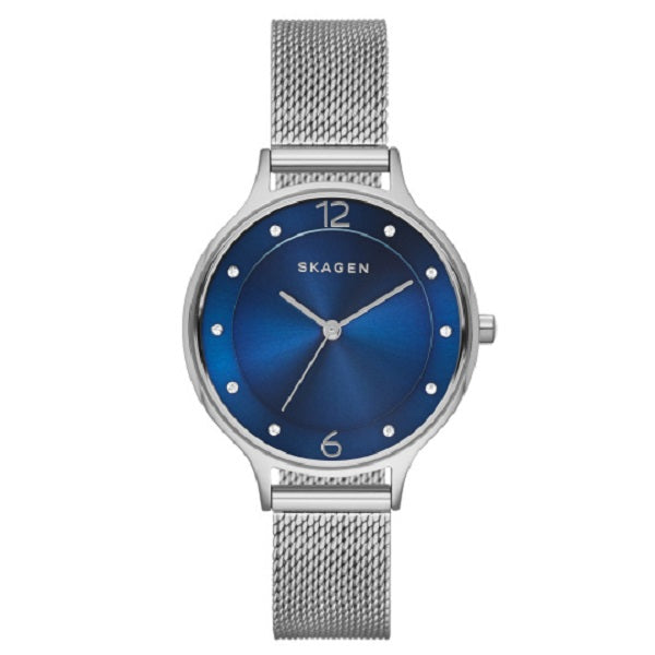 Skagen Anita Blue Dial Ladies Watch SKW2307 - Hollins and Hollinshead