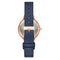 Skagen Anita Blue leather Strap Ladies Watch SKW2864 - Hollins and Hollinshead
