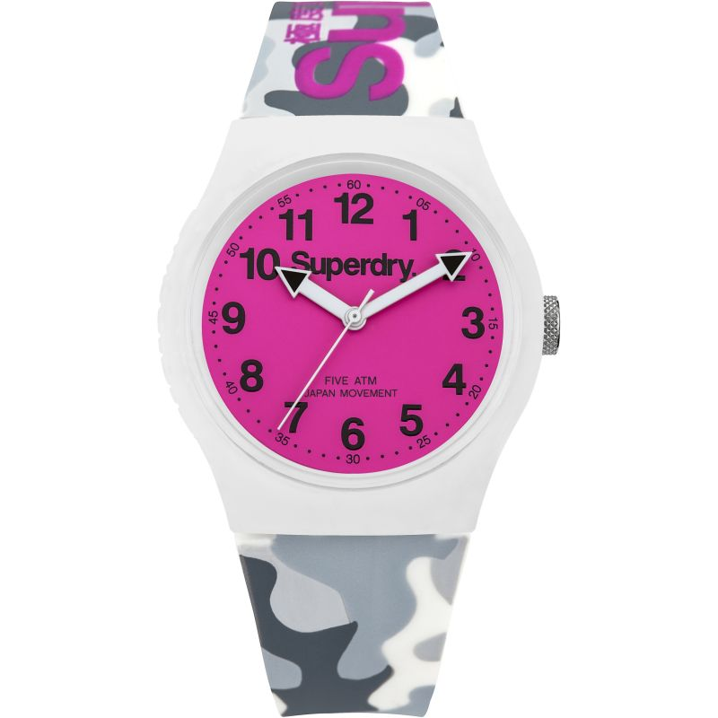 Superdry Urban Grey Camouflage Watch SYG164EP - Hollins and Hollinshead