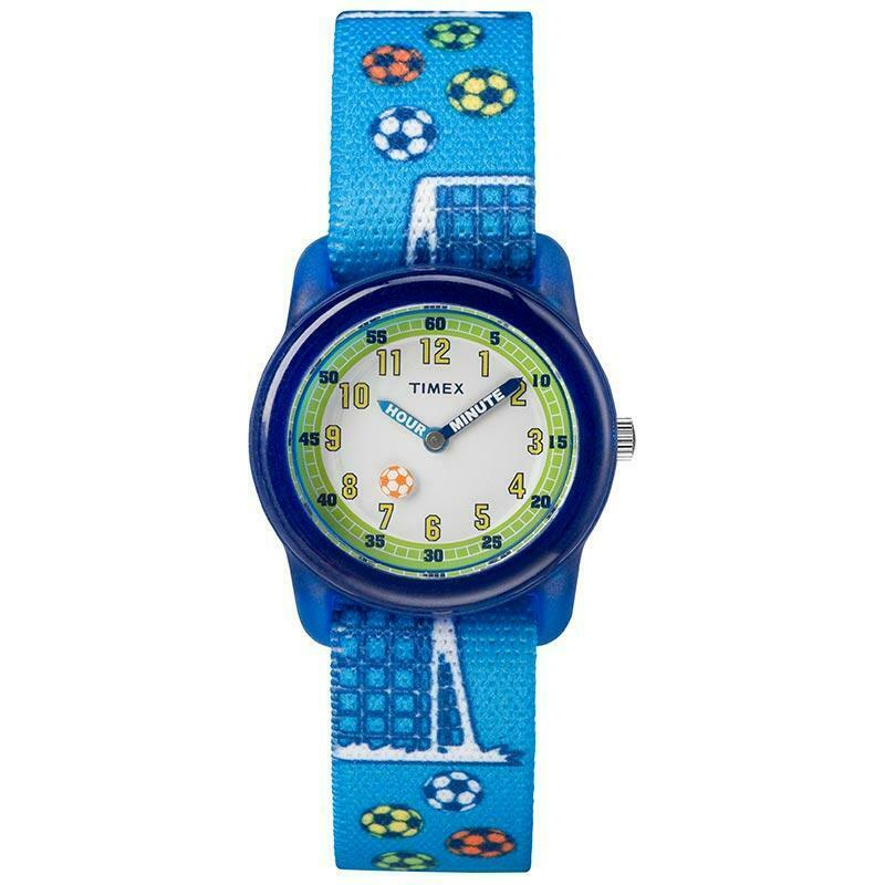 Timex Football Time Teacher Kids Watch TW7C16500 - Hollins and Hollinshead