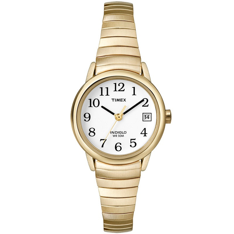 Timex Indiglo Easy Reader Expandable Ladies Watch T2H351 - Hollins and Hollinshead