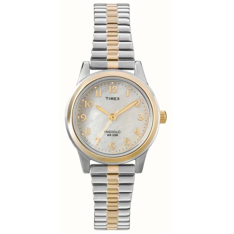 Timex Two Tone Expandable Bracelet Ladies Watch T2M828 - Hollins and Hollinshead