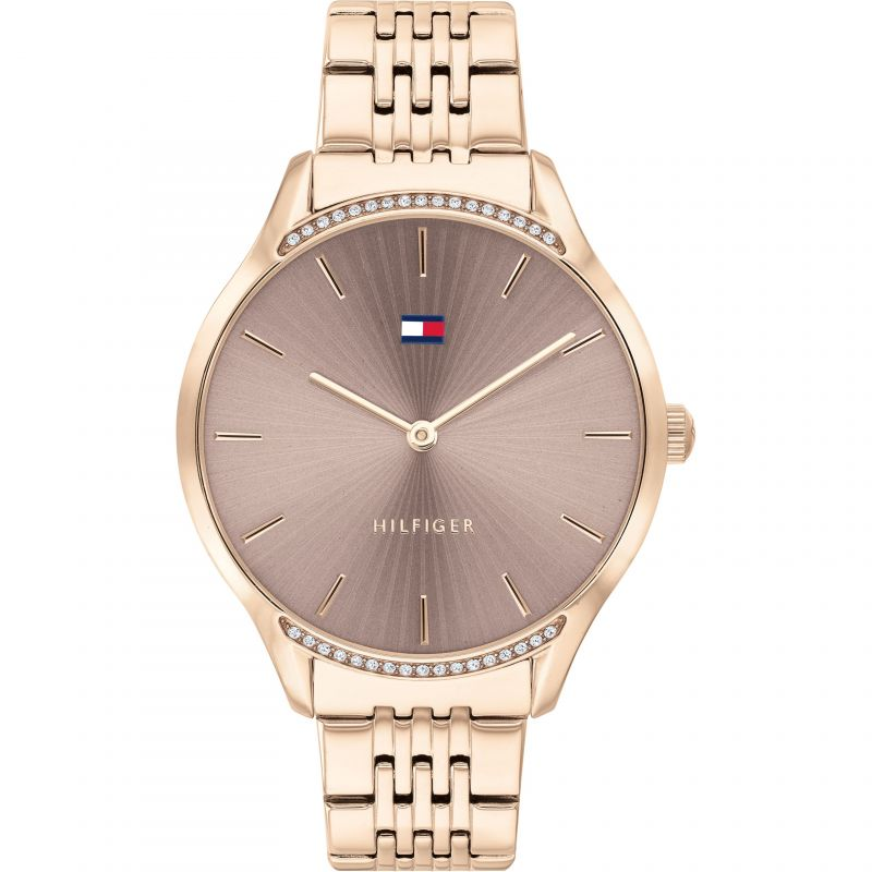 Tommy Hilfiger Rose Gold Plated Ladies Watch 1782212 - Hollins and Hollinshead