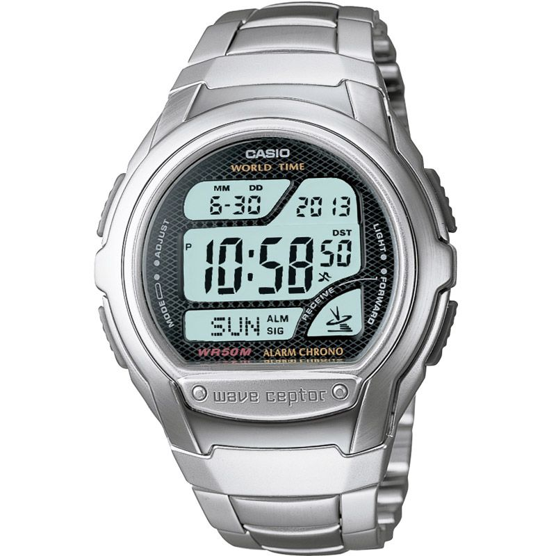 Casio Wave Ceptor Chronograph Watch WV-58DU-1AVES - Hollins and Hollinshead