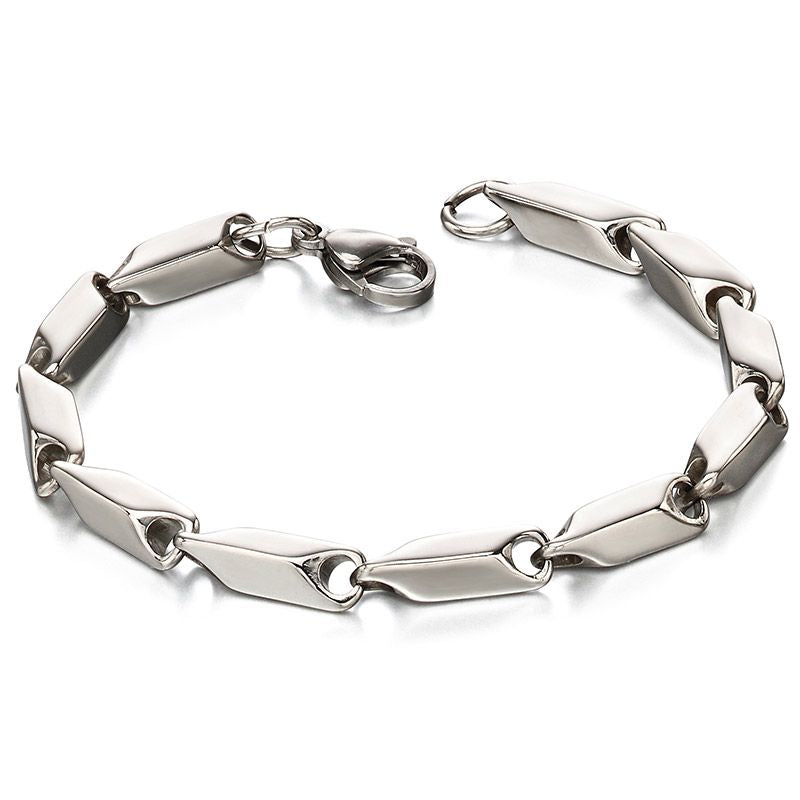 Fred Bennett Stainless Steel Mens Bracelet B4971 - Hollins and Hollinshead