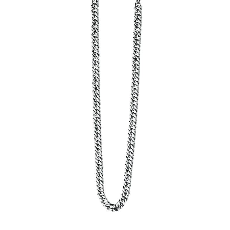 Fred Bennett Stainless Steel Mens Necklace N3224 - Hollins and Hollinshead