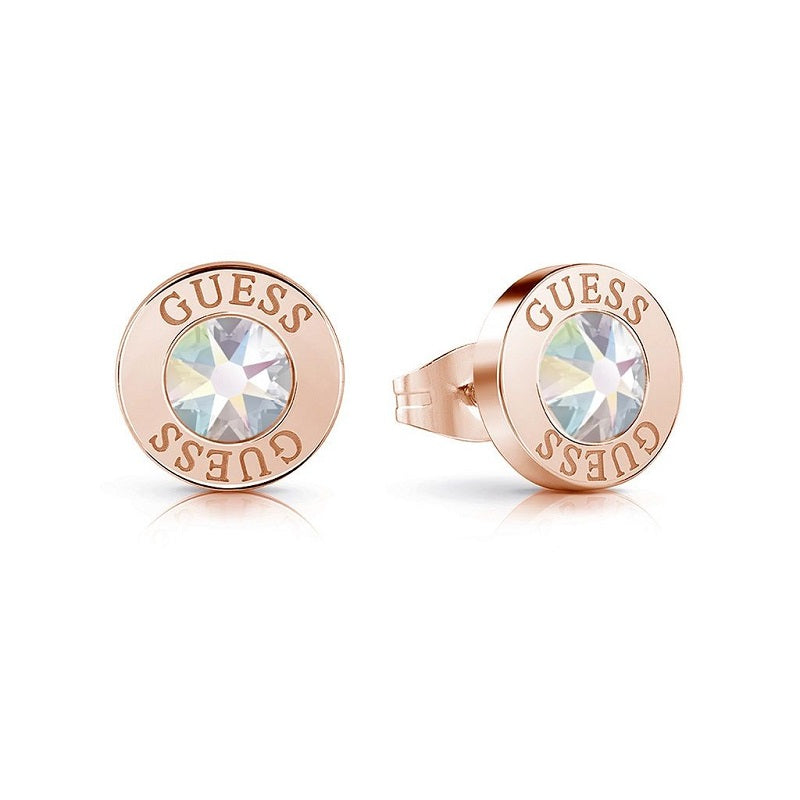 Guess Shiny Crystals Aurora Stud Earrings UBE78096 - Hollins and Hollinshead