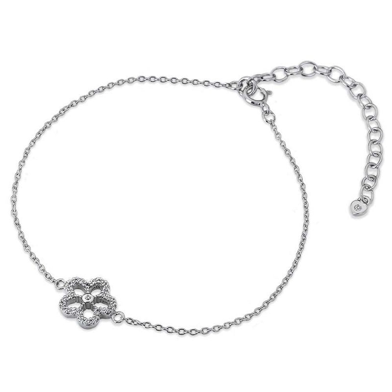 Hot Diamonds Gentle Daisy Silver Bracelet  DL579 - Hollins and Hollinshead