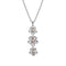 Hot Diamonds Forget Me Not Drop Pendant DP748 - Hollins and Hollinshead