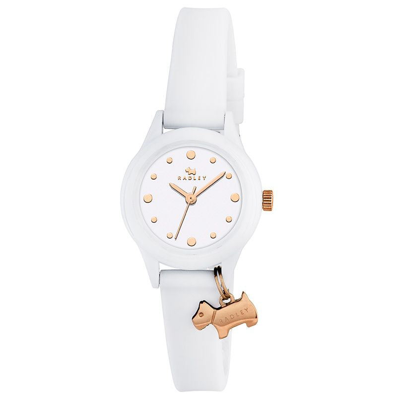 Radley Watch It White Silicone Strap Watch RY2320 - Hollins and Hollinshead