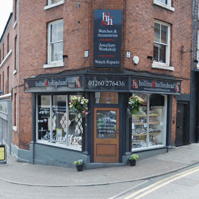 Hollins and Hollinshead Jewellers in Cheshire Home Page Image