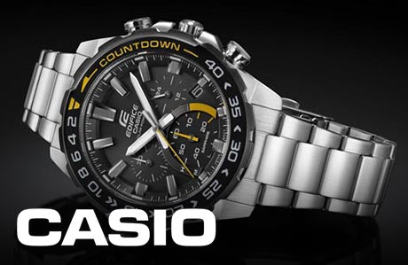 casio Home Page Watches Banner