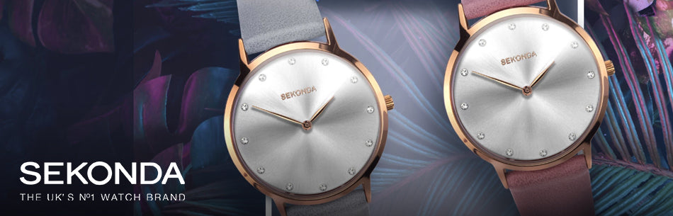 Sekonda Home Page Watches Banner