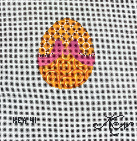 L'Orange Ribbon Egg KEA41