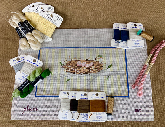 Nesting by Plum Stitchery Kit