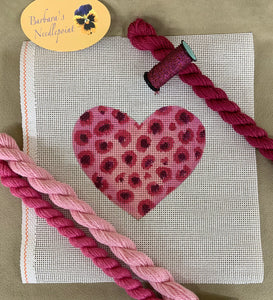 David's Pink Leopard Heart Kit