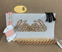 Ann's Two-Sided Leopard Bunny Kit