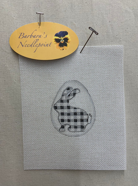 Black and White Bunny Egg Series by Cindy - CLICK IN TO SEE ALL!