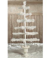 Feather Tree Ivory in Urn Base