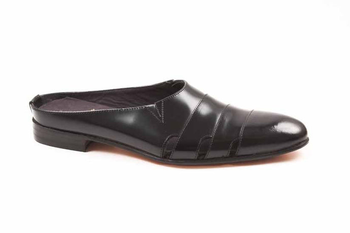 Noir Lounger Slip-on