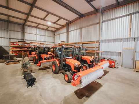 6 Neilo B3150 Sweepers Ready for Australia