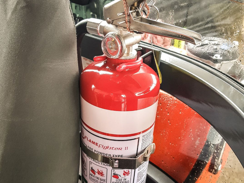 Fire Extinguisher with Bracket