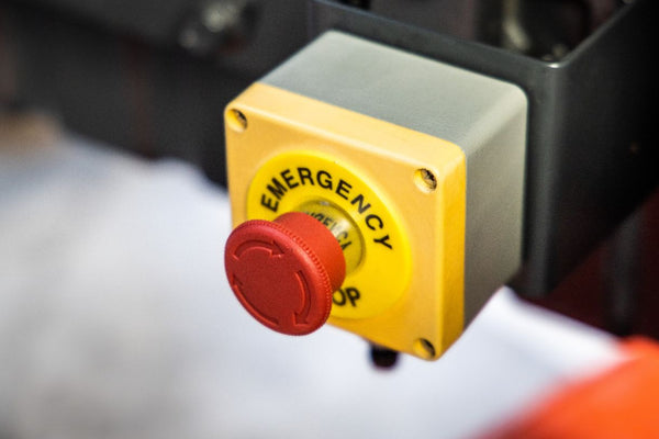 Emergency Stop (E-stop) Button
