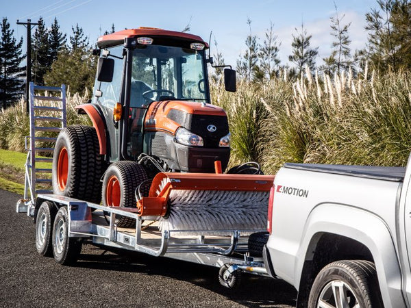 Tractor Broom Trailer for Kubota L5740