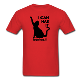 I CAN HAS LOGO TEE - red
