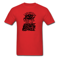 Angry Feminist Tee (men's fit) - red