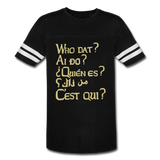We are ALL  Dat Tee (vintage unisex) - black/white