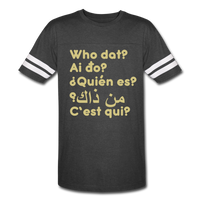 We are ALL dat Round (Vintage Sport T-Shirt) - vintage smoke/white