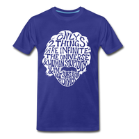 We are ALL dat Round (Men's Premium T-Shirt) - royal blue