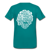 We are ALL dat Round (Men's Premium T-Shirt) - teal