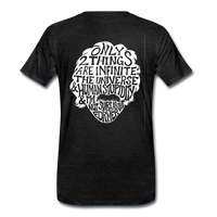 We are ALL dat Round (Men's Premium T-Shirt) - charcoal gray