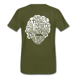 We are ALL dat Round (Men's Premium T-Shirt) - olive green