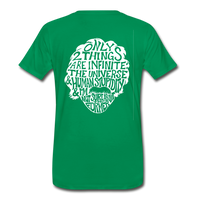 We are ALL dat Round (Men's Premium T-Shirt) - kelly green